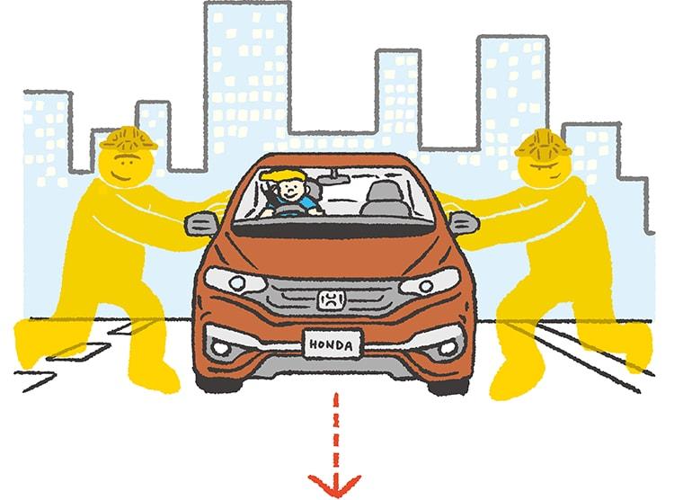 画像: 車線内を走行できるようにステアリング操作を支援。 www.honda.co.jp