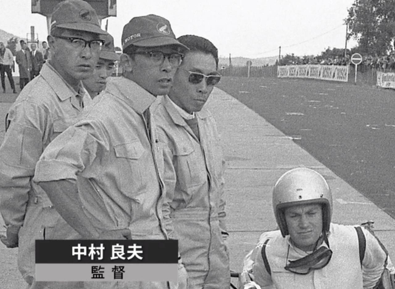 画像: 中村良夫:元航空機のエンジニア。HondaF1チームの監督に就任。 www.honda.co.jp