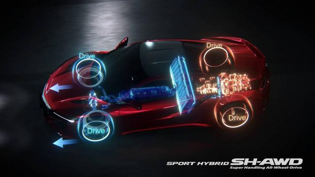 画像: 新型「NSX」技術プロモーション映像:パワートレイン編 www.youtube.com