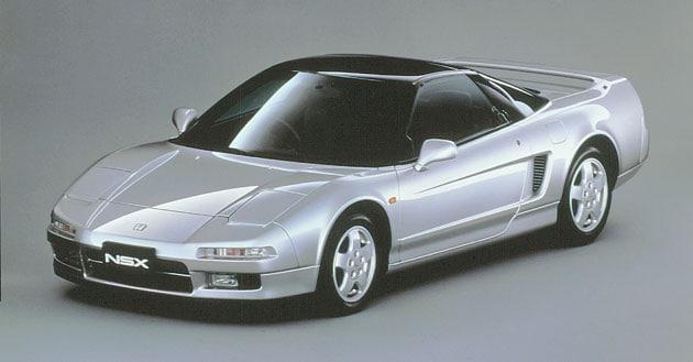 画像: 初代NSX www.honda.co.jp