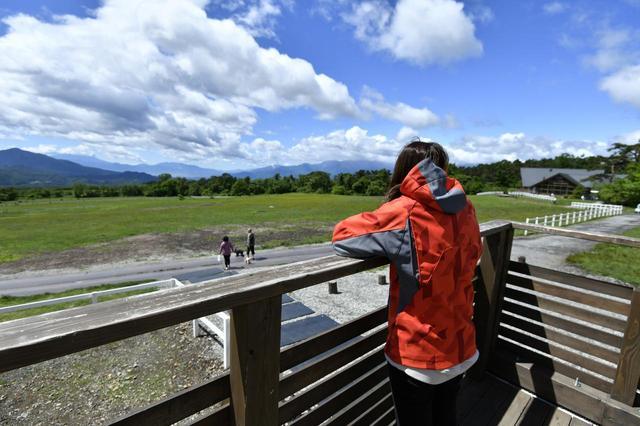 画像2: コチラは清泉寮ジャージーハットでございます。