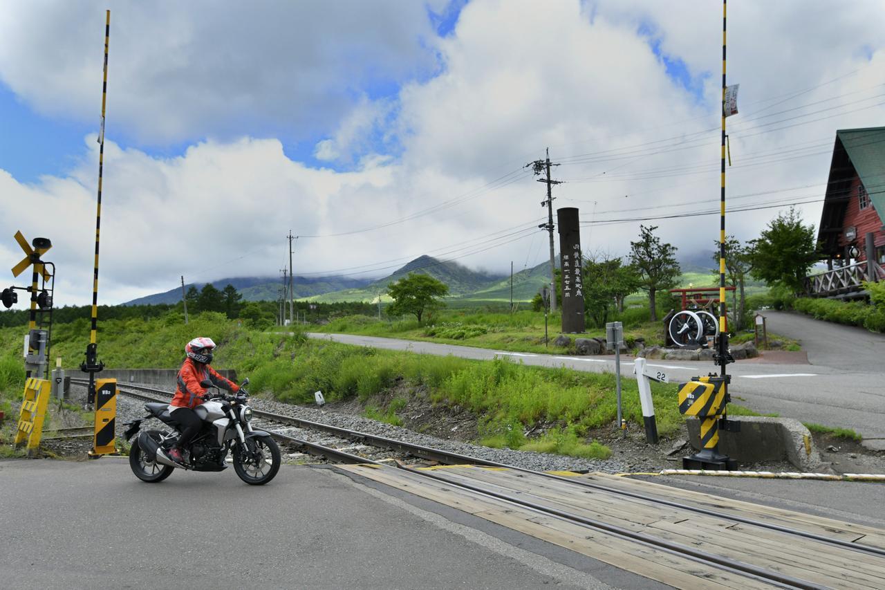 画像1: JR鉄道最高地点の野辺駅へ!