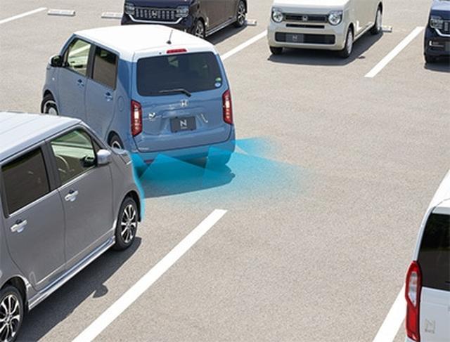 画像: バックも駐車も、いつでもスムーズ『パーキングセンサーシステム』