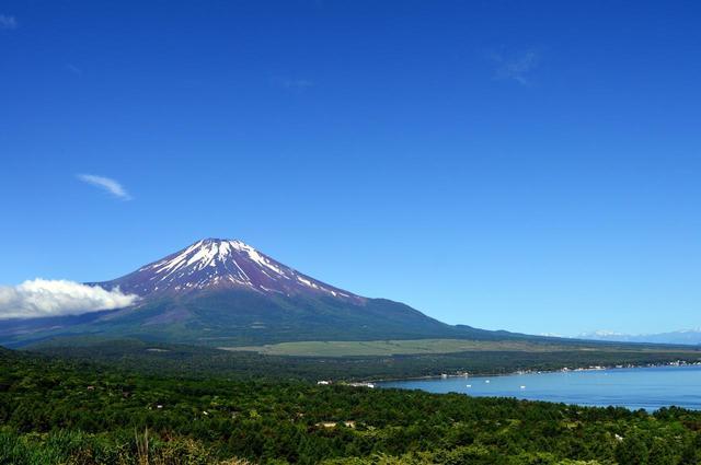 画像: 山中湖パノラマ台 www.photo-ac.com
