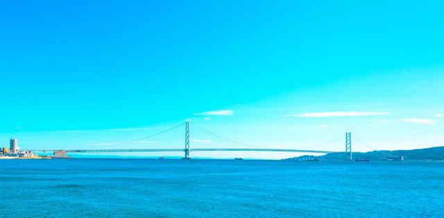 画像: 明石海峡大橋 www.photo-ac.com