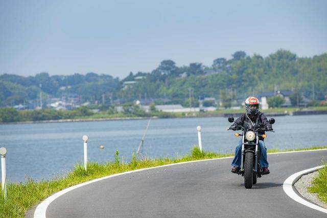 画像1: 霞ヶ浦でガードレールのない広い湖をみよう!