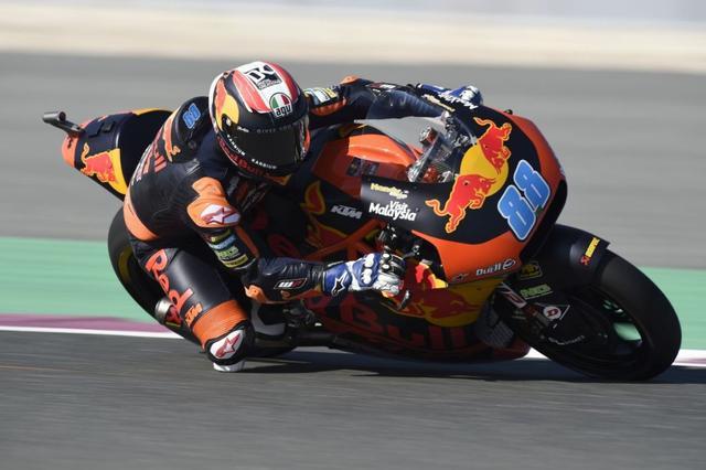 画像: 2019年シーズン、KTMでMoto2を戦うJ.マルティン。8月20日時点でシングルフィニッシュはわずか2度と苦戦していますが、今後の巻き返しが期待されています。 www.vroom-magazine.com