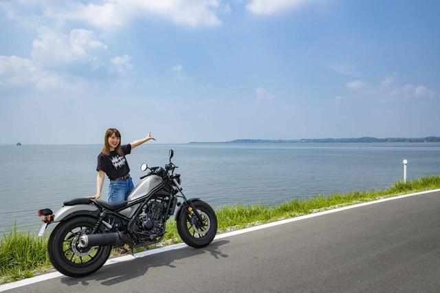 画像2: 霞ヶ浦でガードレールのない広い湖をみよう!