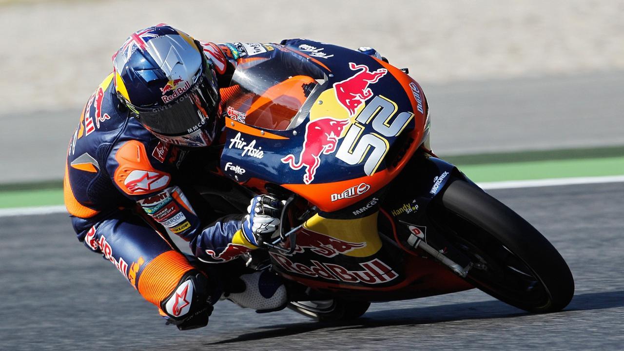 画像: 2012年、KTMでMoto3を走ったD.ケントは2勝を記録しました。 www.motogp.com