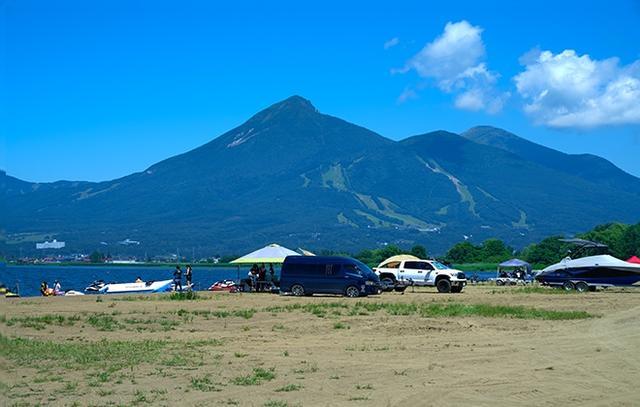 画像: 天神浜オートキャンプ場「HondaGO BIKE STAND」