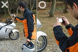 画像: カメラを構える時は必ず脇の下を身体に付ける www.honda.co.jp