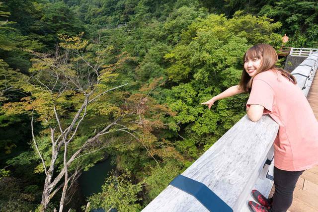 画像2: 吾妻渓谷(猿橋)へ到着!