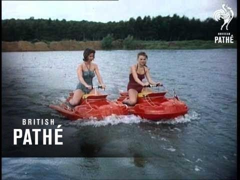 画像: Water Scooters (1956) youtu.be
