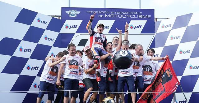 画像: ロードレース世界選手権(MotoGP) - 2019 第15戦 タイGP MotoGP 決勝 | Honda