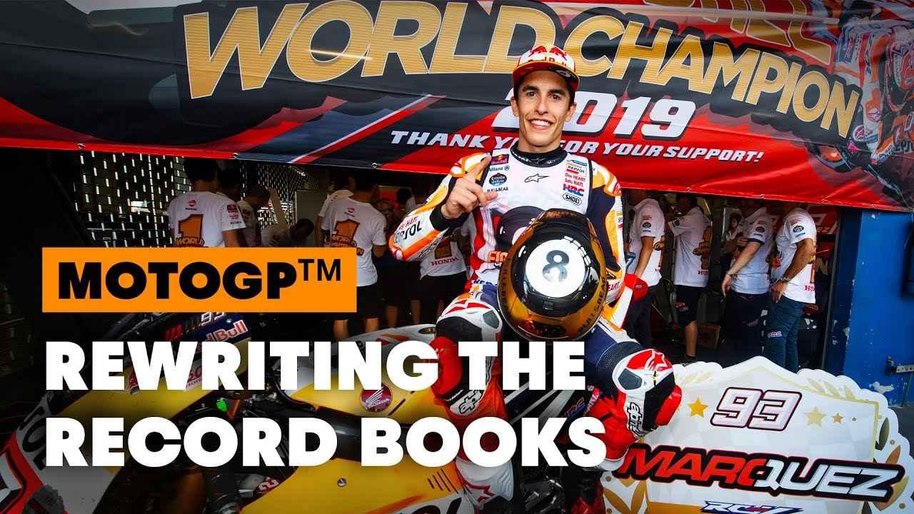 画像: 8 Defining Moments in Marc Marquez's Career | MotoGP 2019 youtu.be