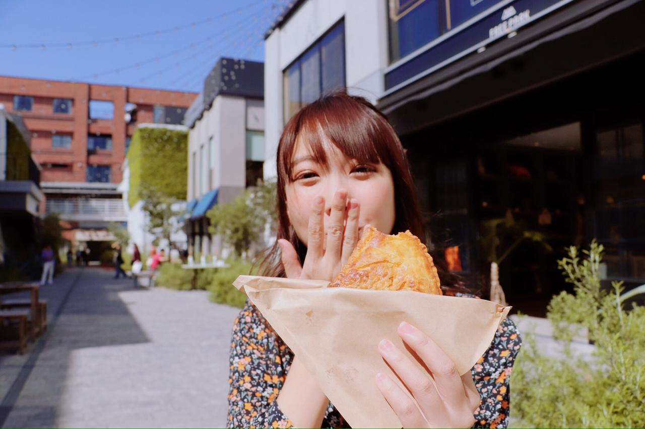 画像: この時食べているのは:ビーフミートパイ 500円