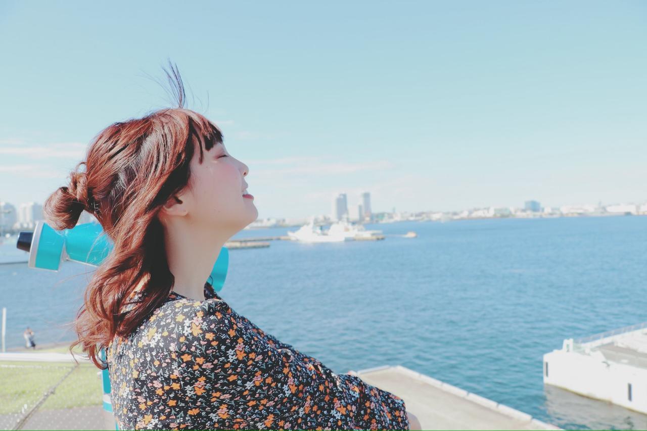 画像2: 大桟橋で海とみなとみらいを見渡します