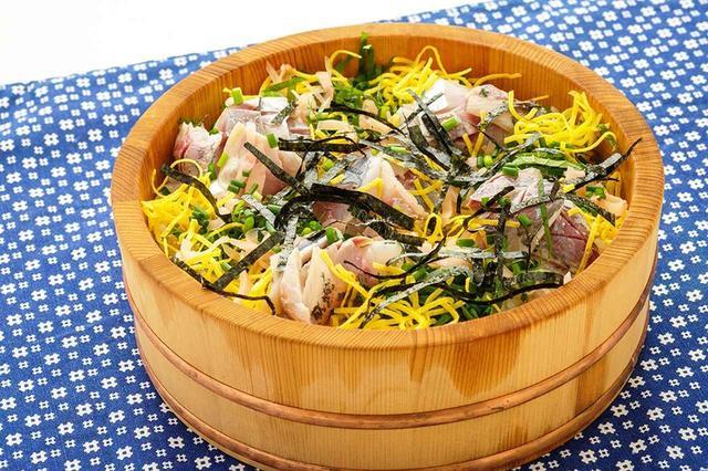 画像: 締めアジのちらし寿司。こんなの食べたことない! www.honda.co.jp
