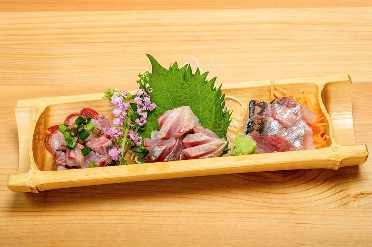 画像: 刺し身の盛り合わせ。美味しそう…… www.honda.co.jp