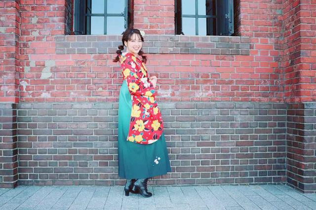 画像3: 横浜赤レンガ倉庫でレトロに変身
