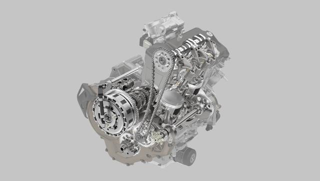 画像: 新型1100ccのエンジン/MT仕様