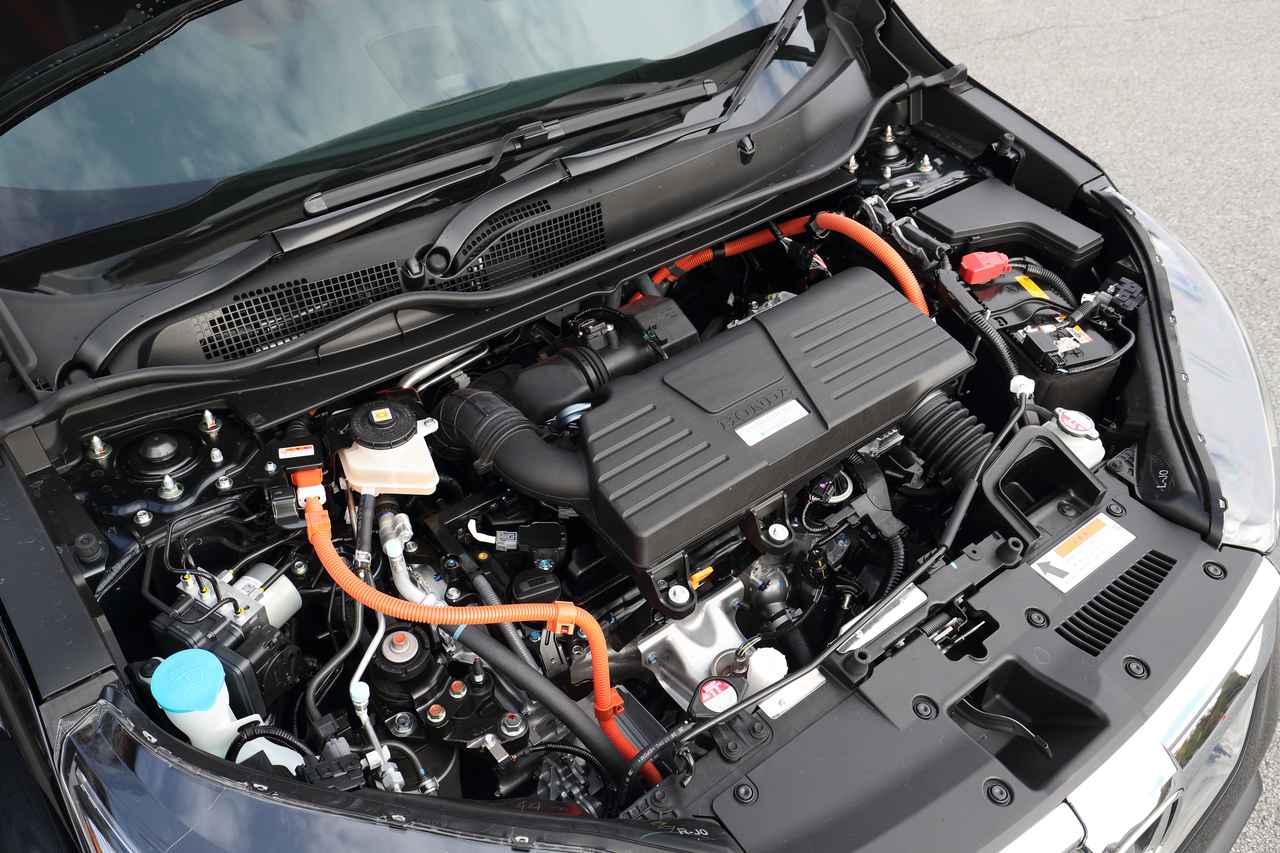 画像: ハイブリッドに搭載されるのは、最高出力145ps、最大トルク175Nmを発生する2L直4DOHCエンジン。それに最高出力184ps、最大トルク315Nmを発生するモーターが組み合わされる。