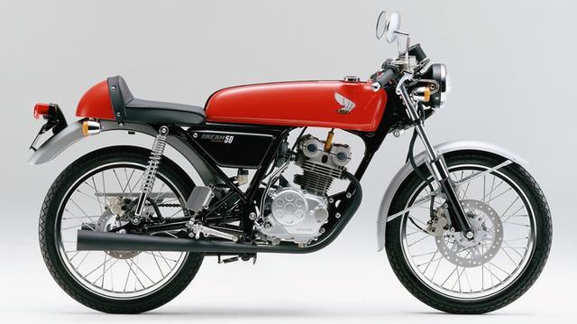 画像: こちらは1998年1月に発売されたバリエーションモデル、ファクトリーマシンのカラーリングを施した「ホンダ ドリーム50 スペシャルエディション」です。50cc・DOHC4バルブという高級メカニズムを採用する点が、多くのホンダファンや機械好きの関心の的となったモデルです。 www.honda.co.jp