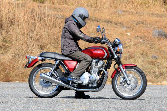 画像4: CB1100EXは『バイクと一緒に走る』バイク