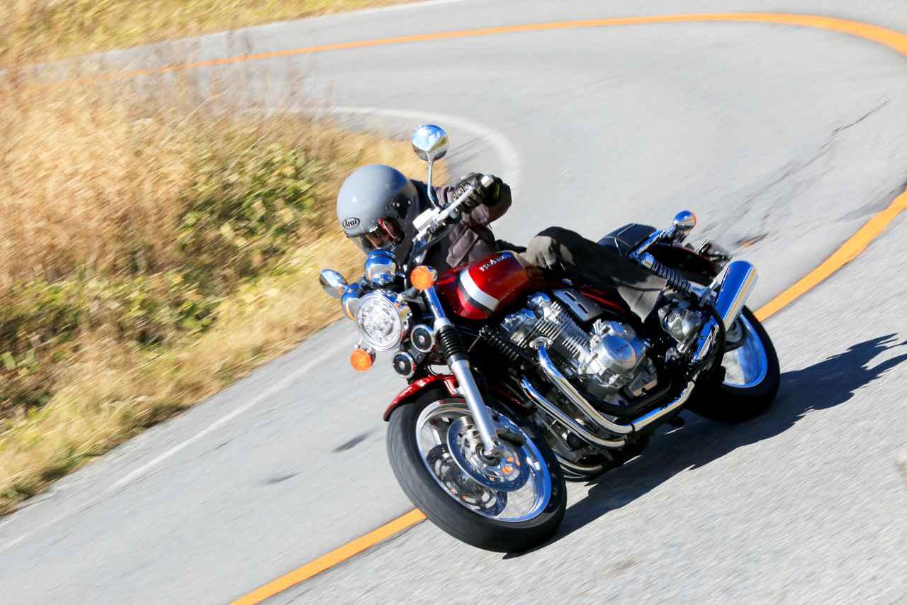 画像7: CB1100EXは『バイクと一緒に走る』バイク