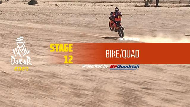 画像: Dakar 2020 - Stage 12 (Haradh / Qiddiya) - Bike/Quad Summary youtu.be