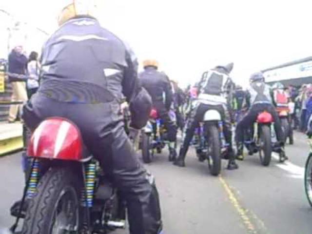 画像: honda rc162 mallory 2009 on bike Part 1 youtu.be