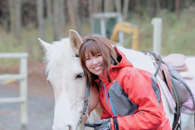 画像2: 乗馬体験終了!名残惜しい…