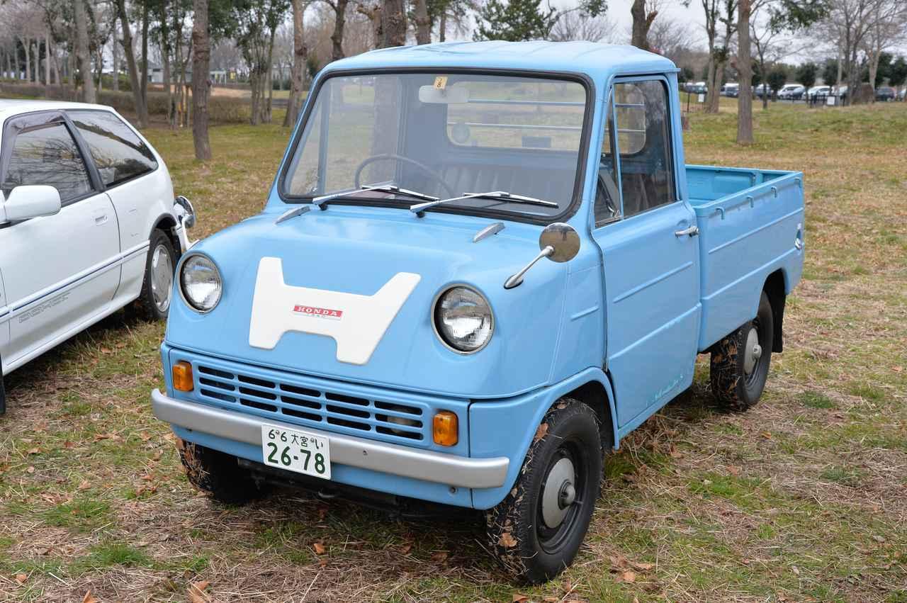 画像: ホンダ初の4輪車!青いボディの可愛い軽トラ