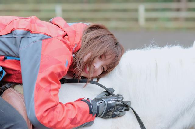 画像1: 乗馬体験終了!名残惜しい…