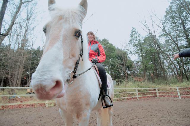 画像3: ドキドキ…わくわくな乗馬体験スタートです!