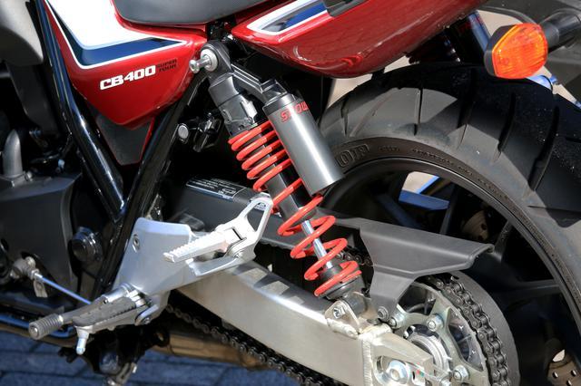 画像3: スポーツバイクとして考えるCB400SF