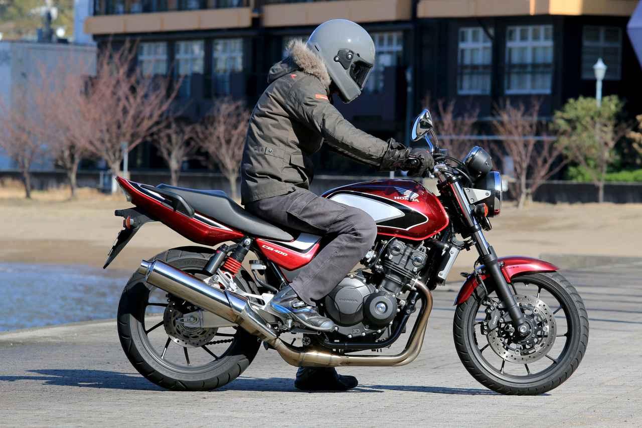 画像1: スポーツバイクとして考えるCB400SF