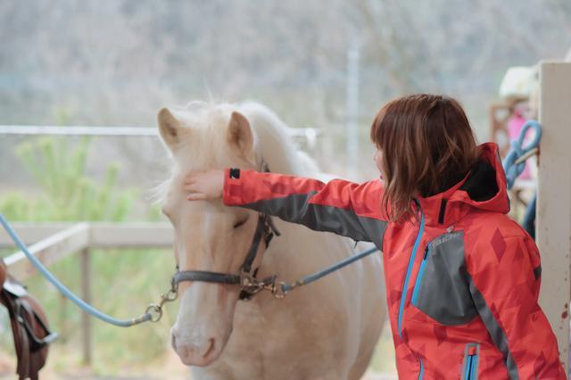 画像3: 乗馬体験終了!名残惜しい…