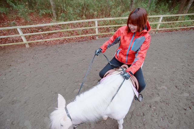 画像2: ドキドキ…わくわくな乗馬体験スタートです!