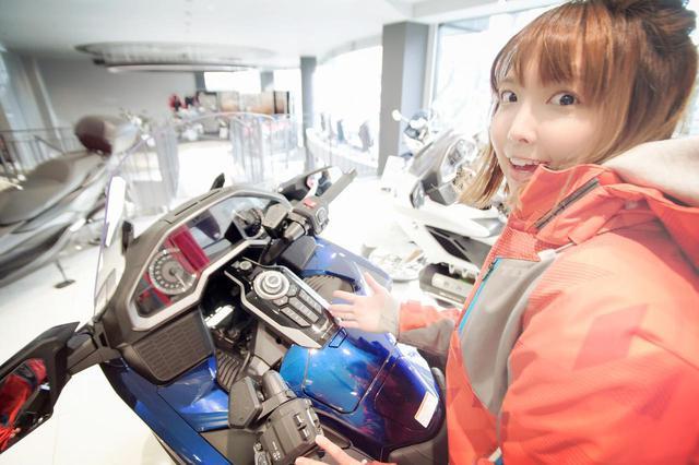 画像: Honda Dreamに潜入、そして…購入⁉︎【声優・西田望見のA Little♡Rider @ディオ】 - A Little Honda | ア・リトル・ホンダ(リトホン)