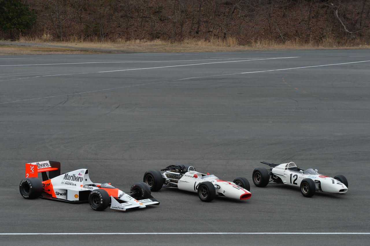 Images : 9番目の画像 - ホンダ歴代のレーシングマシン動態確認テスト 画像一覧(クリックして拡大) - A Little Honda | ア・リトル・ホンダ(リトホン)