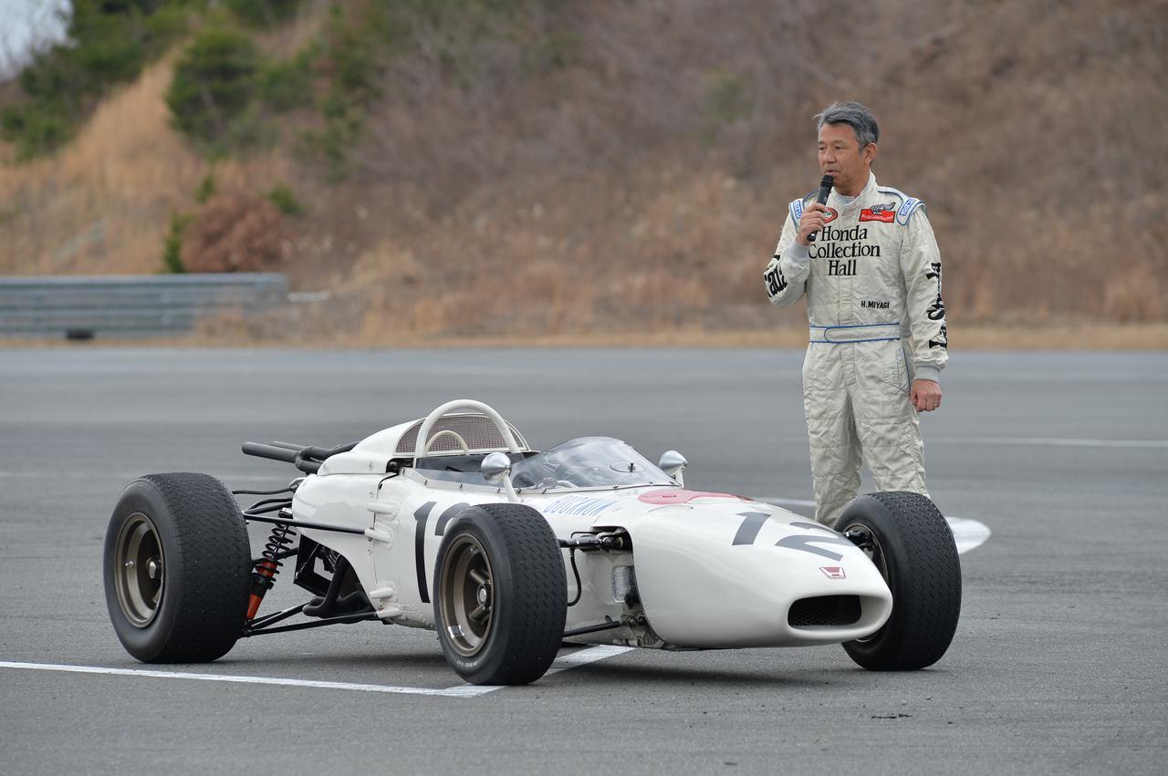 Images : 17番目の画像 - ホンダ歴代のレーシングマシン動態確認テスト 画像一覧(クリックして拡大) - A Little Honda | ア・リトル・ホンダ(リトホン)