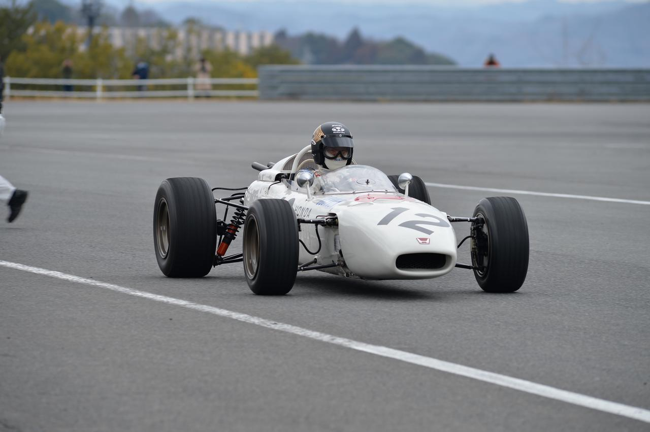 Images : 15番目の画像 - ホンダ歴代のレーシングマシン動態確認テスト 画像一覧(クリックして拡大) - A Little Honda | ア・リトル・ホンダ(リトホン)