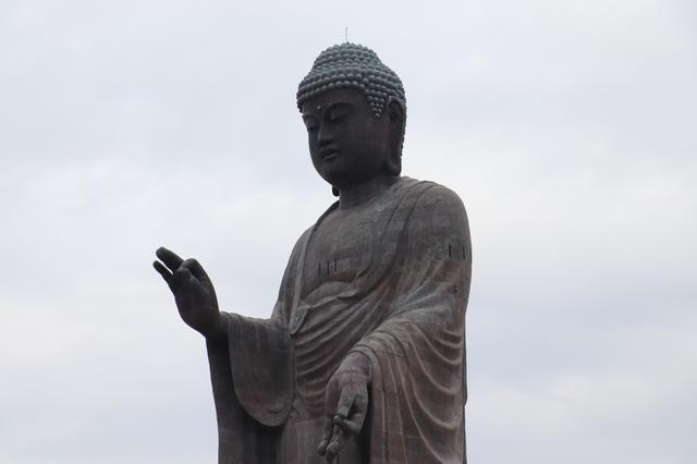 """画像1: めちゃくちゃ大きいと噂の""""〇〇大仏""""へ!!"""