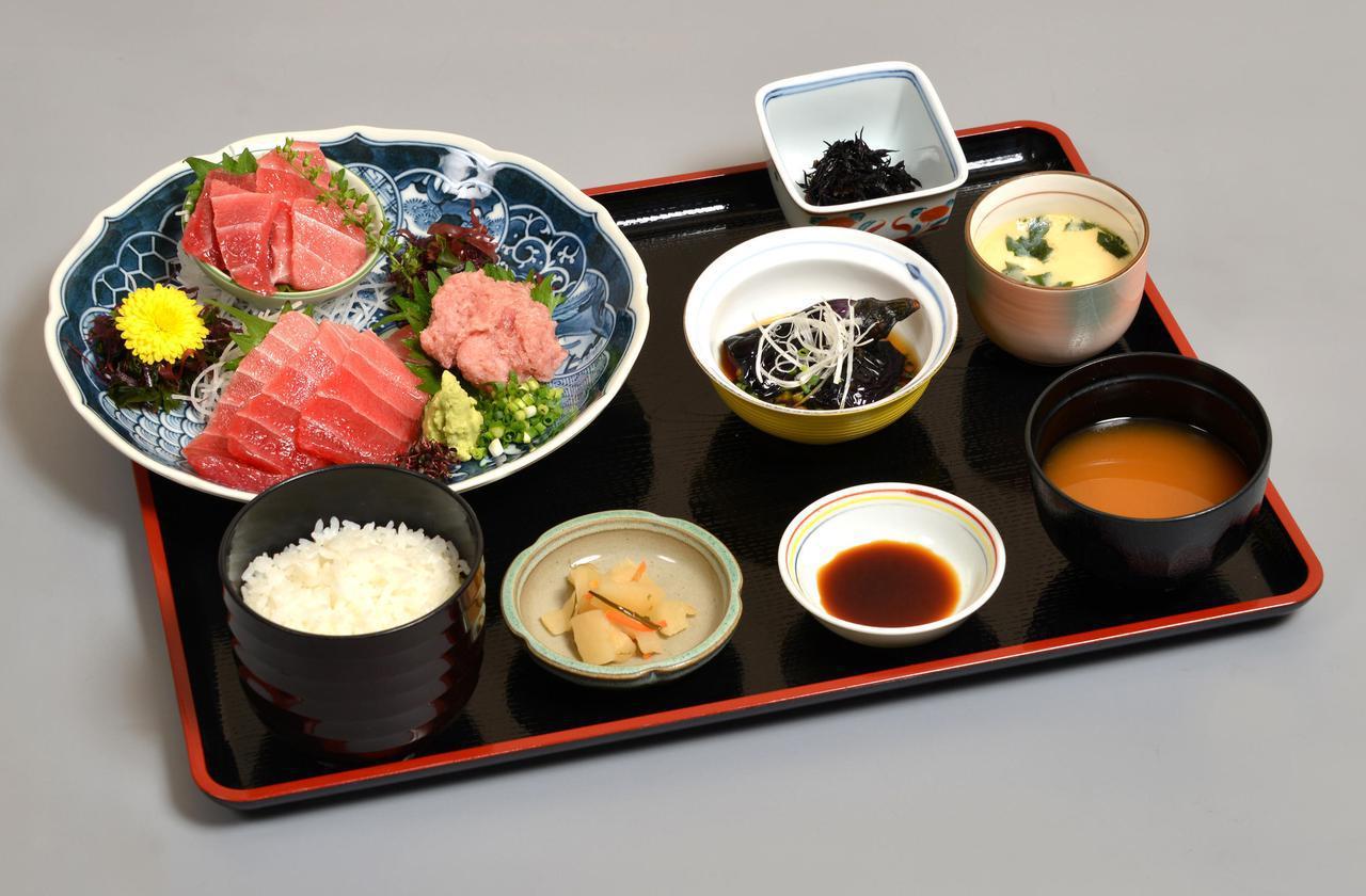 画像: 三崎鮪定食 hougyo.com