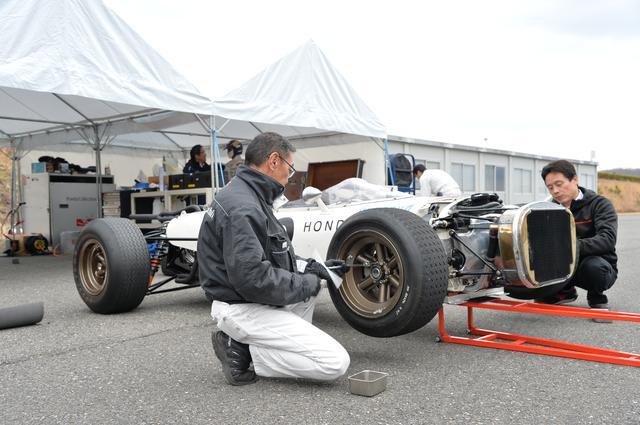 画像1: ホンダのレーシングマシンをマニアックに観察する【地球に帰るまで、もう少し。Vol.41】
