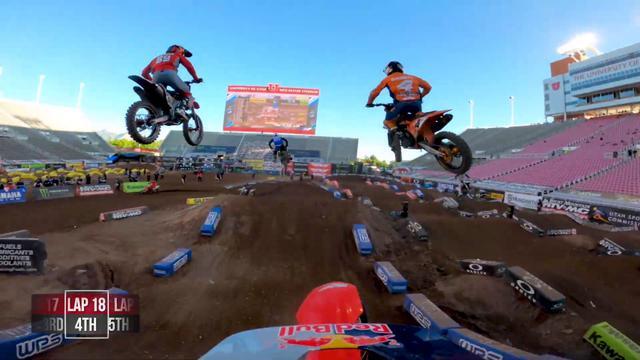 画像: GoPro: Ken Roczen - 2020 Monster Energy Supercross - 450 Main Event Highlights - Salt Lake City 4 youtu.be