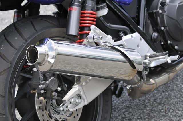 画像1: 400ccの排気量がもたらす余裕