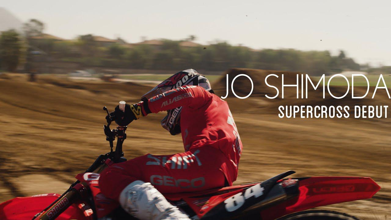 画像: JO SHIMODA | Japanese Pro Making His Mark in American Supercross youtu.be