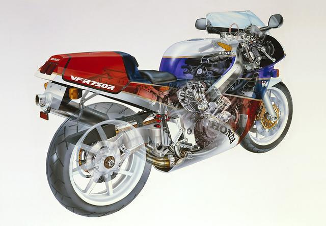 画像: 浜松工場で手作りされたRC30は、欧州には1988年に上陸しました。世界で約5,000台限定で製作されたRC30ですが、その人気は日本同様に今でも非常に高いです。
